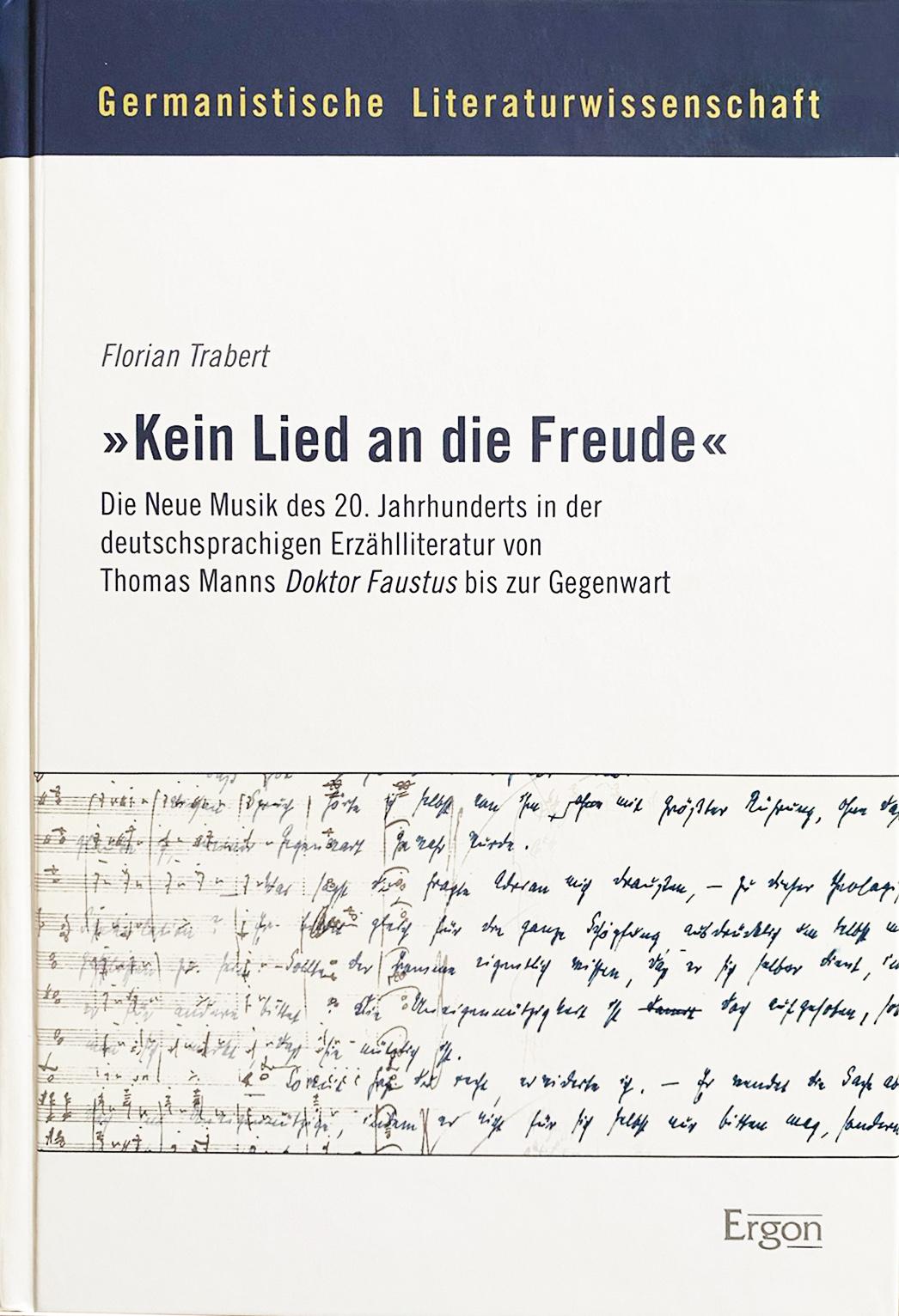 Cover Dissertation Kein Lied an die Freund Florian Trabert