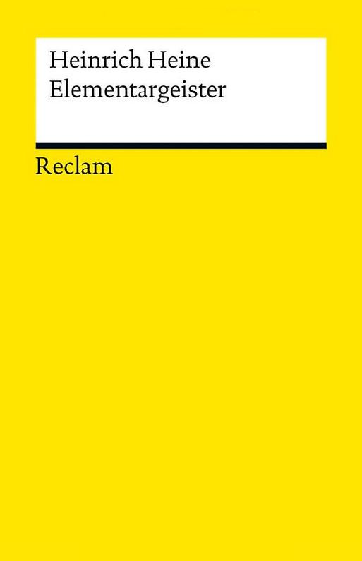Cover Heinrich Heine Elementargeister