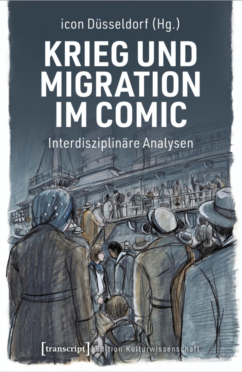 Cover Krieg und Migration im Comic